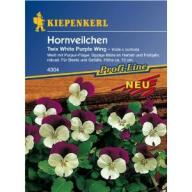 Hornveilchen Twix White Purple Wing